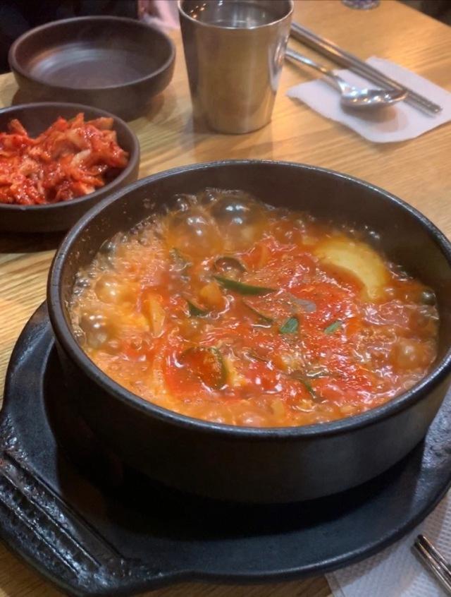 キムチチゲ 韓国料理 ソウル