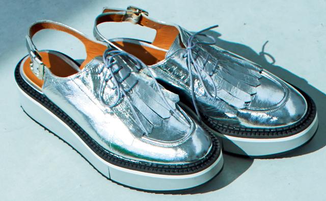 クレジュリー 甲深靴