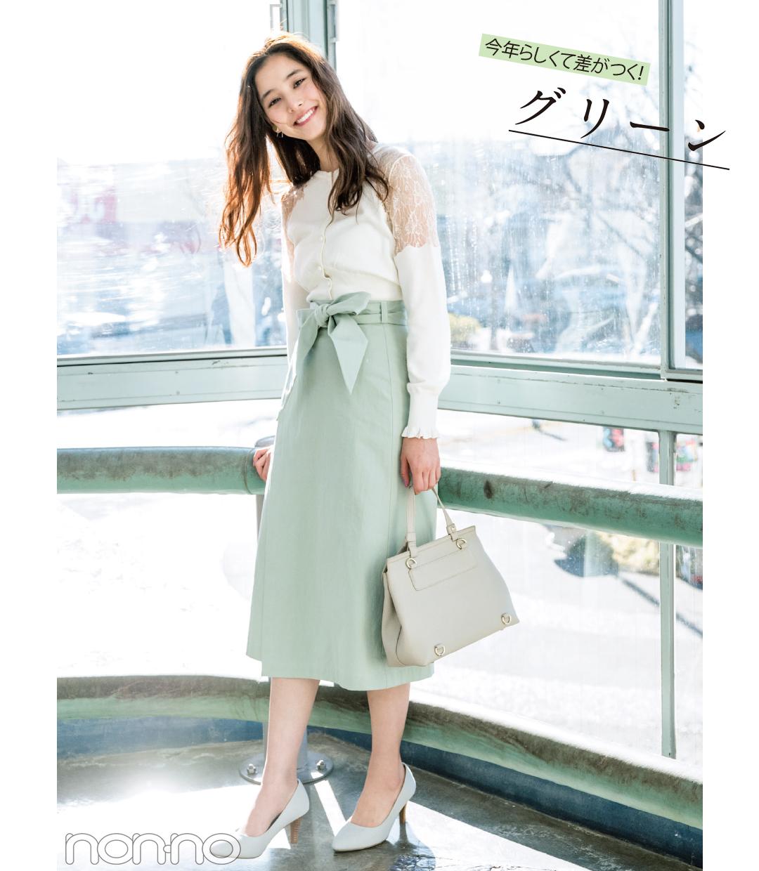 春一番に買うのはコレ! きれい色スカート2018♡ 最新コーデ4選!_1_1-4