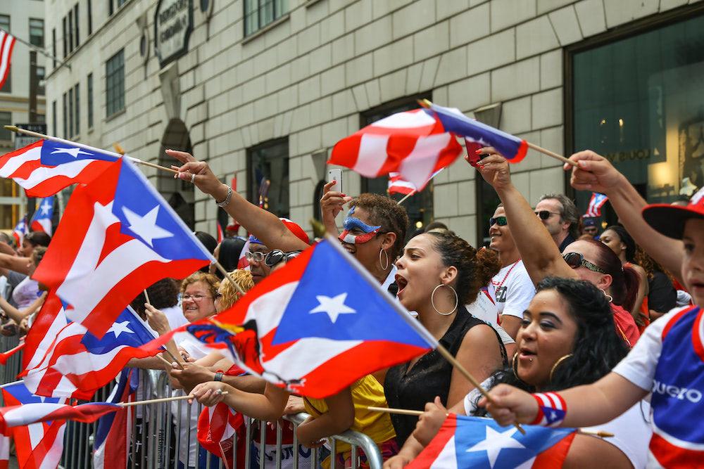 毎年マンハッタンで行われるNational Puerto Rican Dayパレードの様子(Shutterstock)