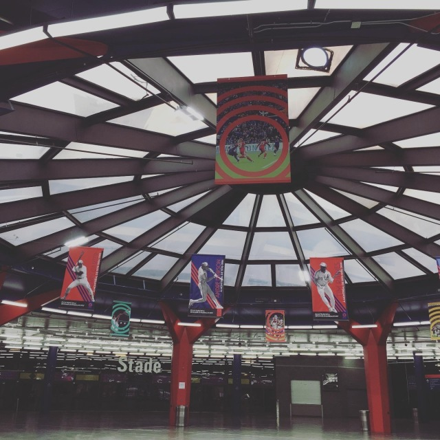 モントリオールオリンピックスタジアムへ。_1_1