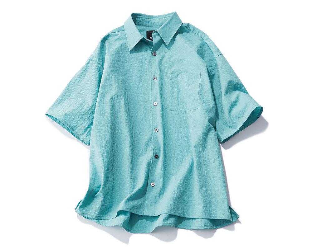 ブルーシャツ¥11,000/ノーク(ノーク バイ ザ ライン)