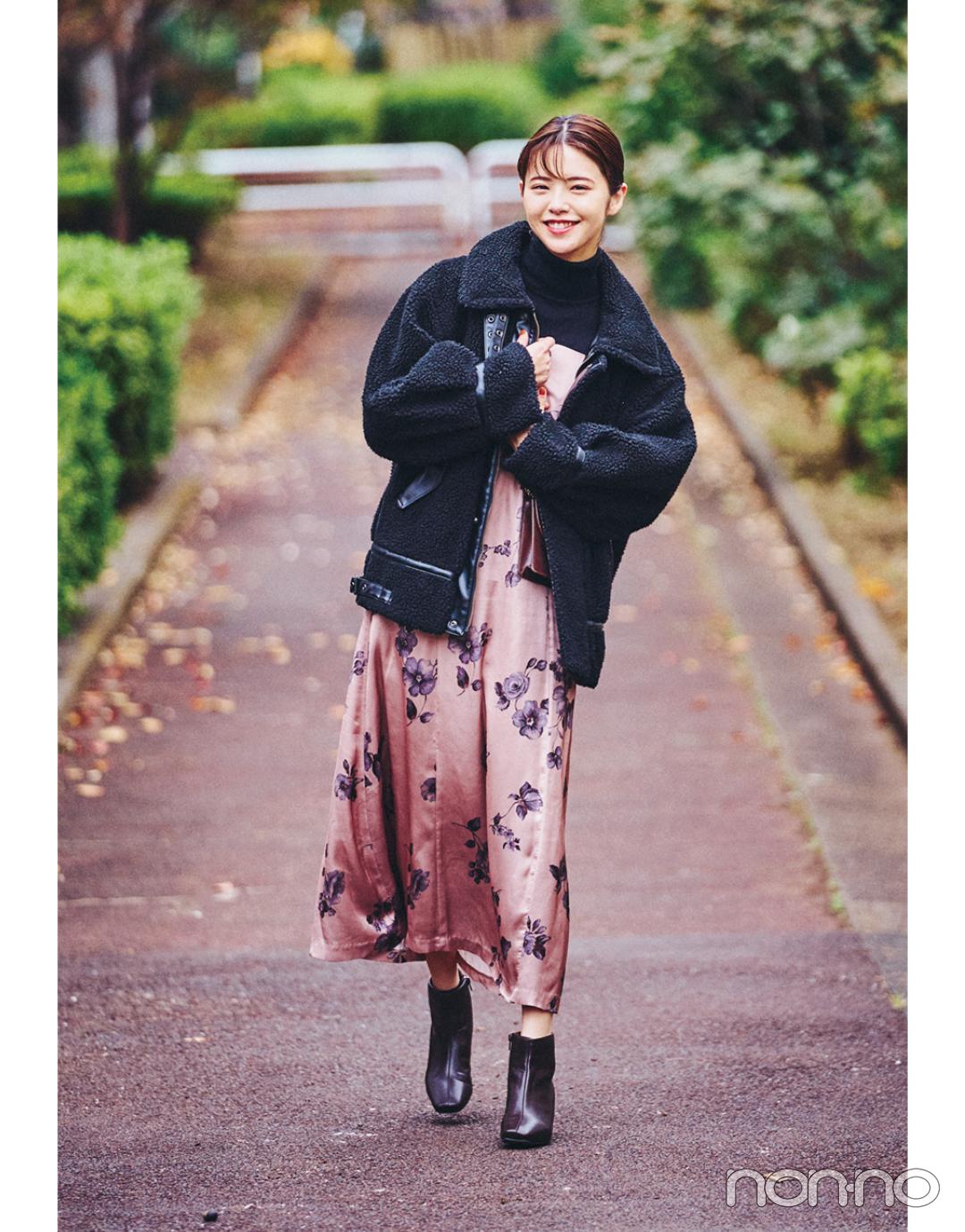 鈴木ゆうかの冬私服♡ カジュアルなのに女っぽが加速するコーデ!_1_3