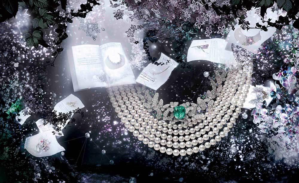 ミキモトの新作ハイジュエリーが「FLOWERS by NAKED」のアート演出で彩られた会場で一般公開_1_1