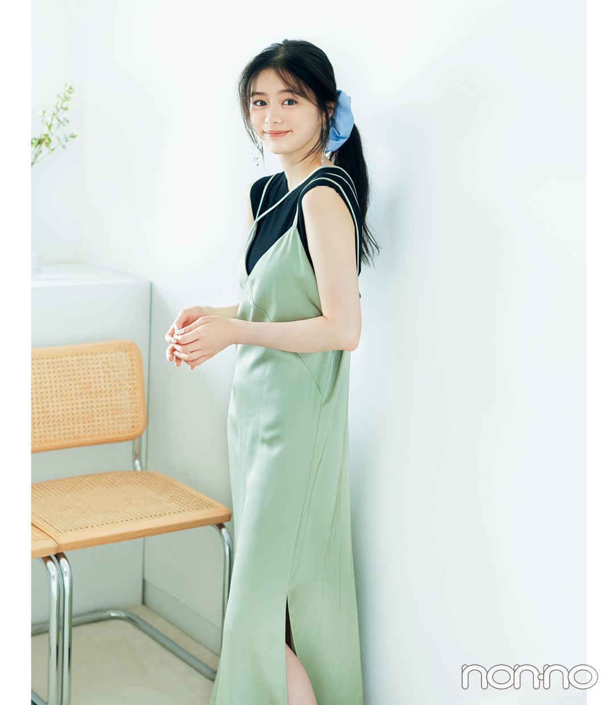紺野彩夏のヘアアクセ&アレンジ図鑑のモデルカット2-2