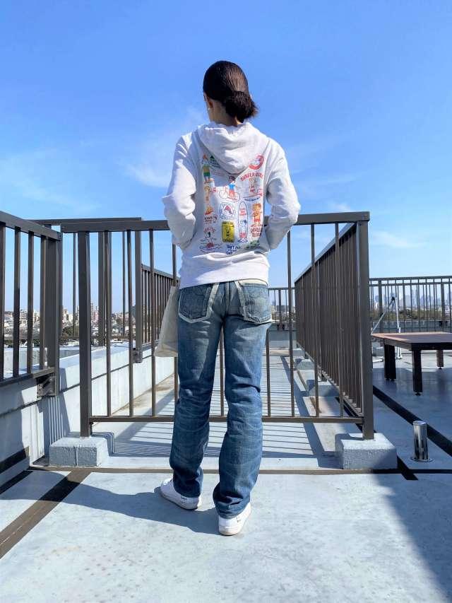 おうち時間コーデは鎌倉ブランドのパーカーで海を感じて。_1_2