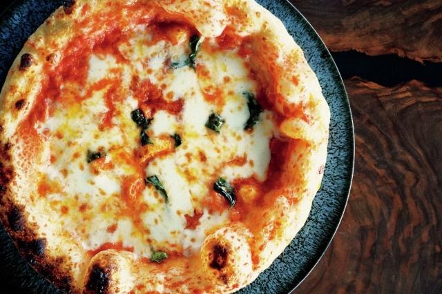 ディナーにはピザを含め3種類のチョイスが