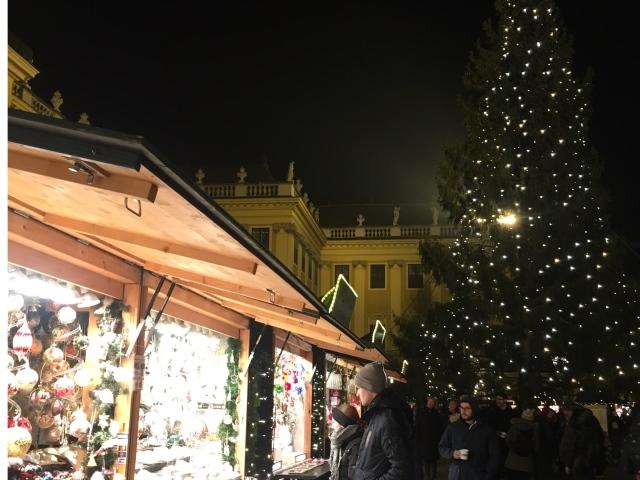 シェーンブルン宮殿はクリスマスマーケット☆_1_4