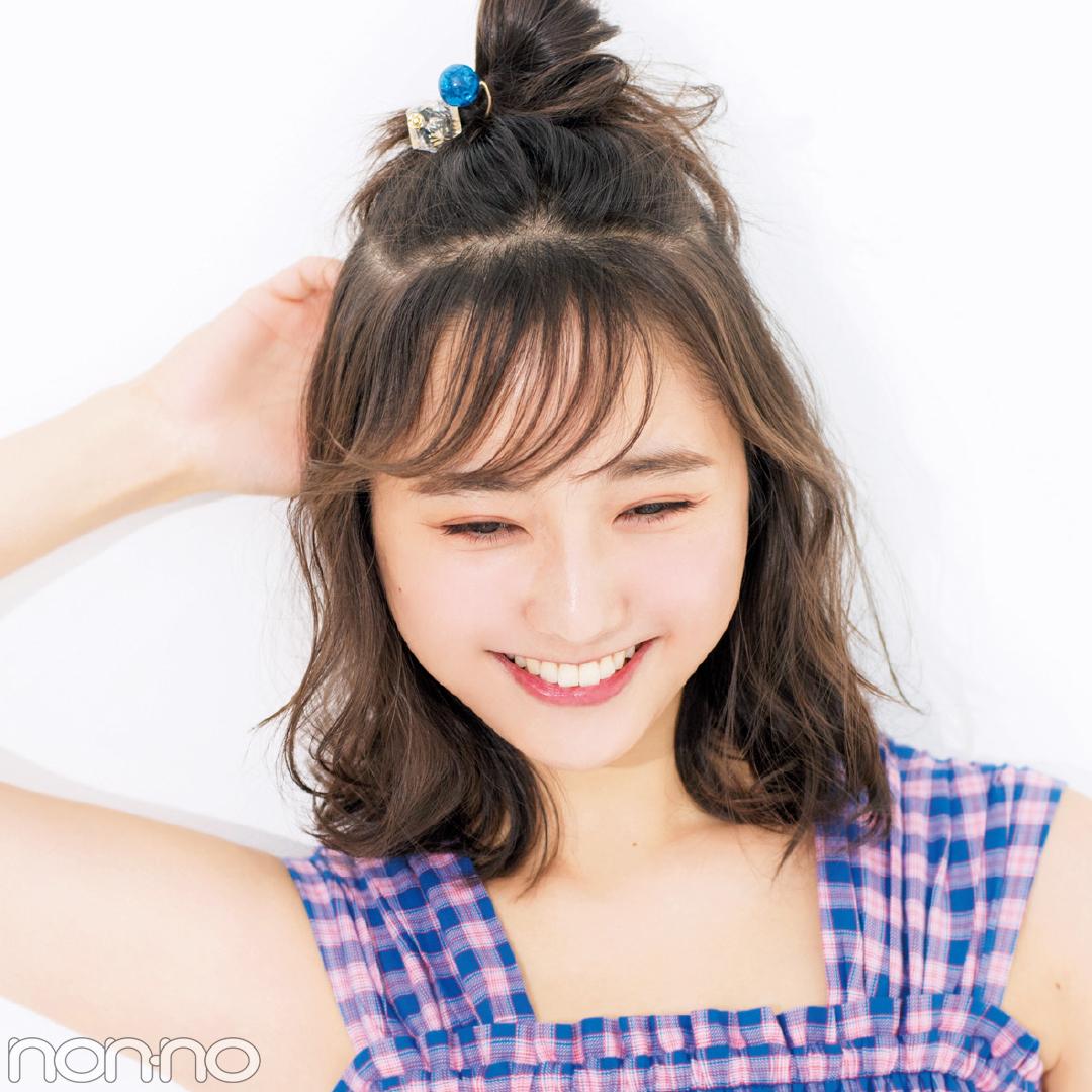 「前髪」と「触角まわり」だけで小顔ヘアアレンジまとめ♡ _1_7-1