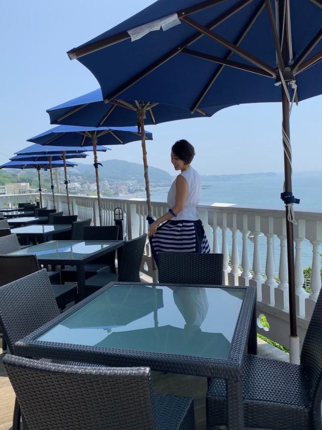 「イベントコーデ」葉山、海の見えるカフェテラス_1_1