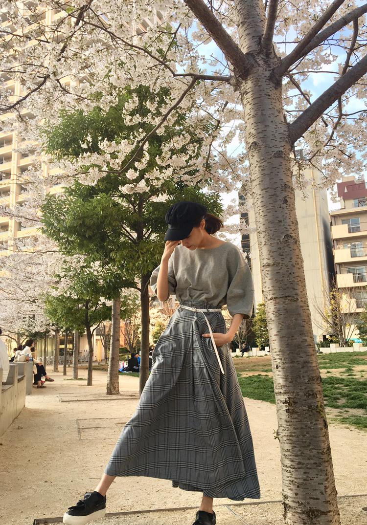 春がきた♡桜のコーデ_1_1