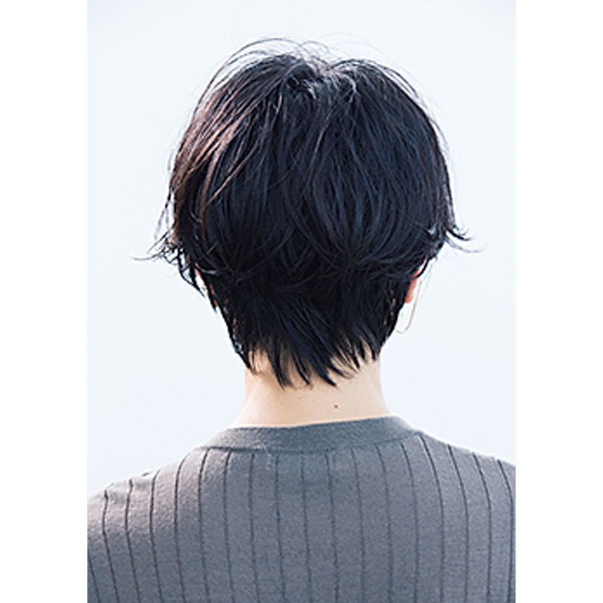 素髪の延長のような抜け感。40代のためのショートヘアスタイル月間ランキングTOP10_1_9