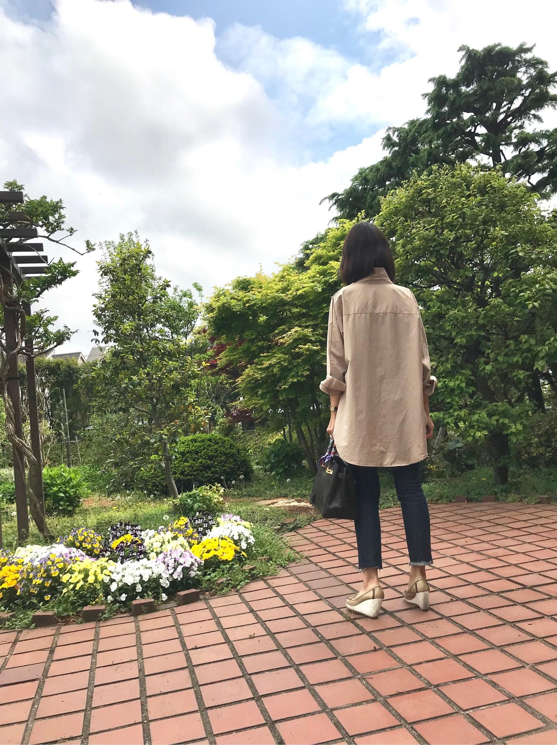 こなれ感抜群の愛用シャツ☆_1_3