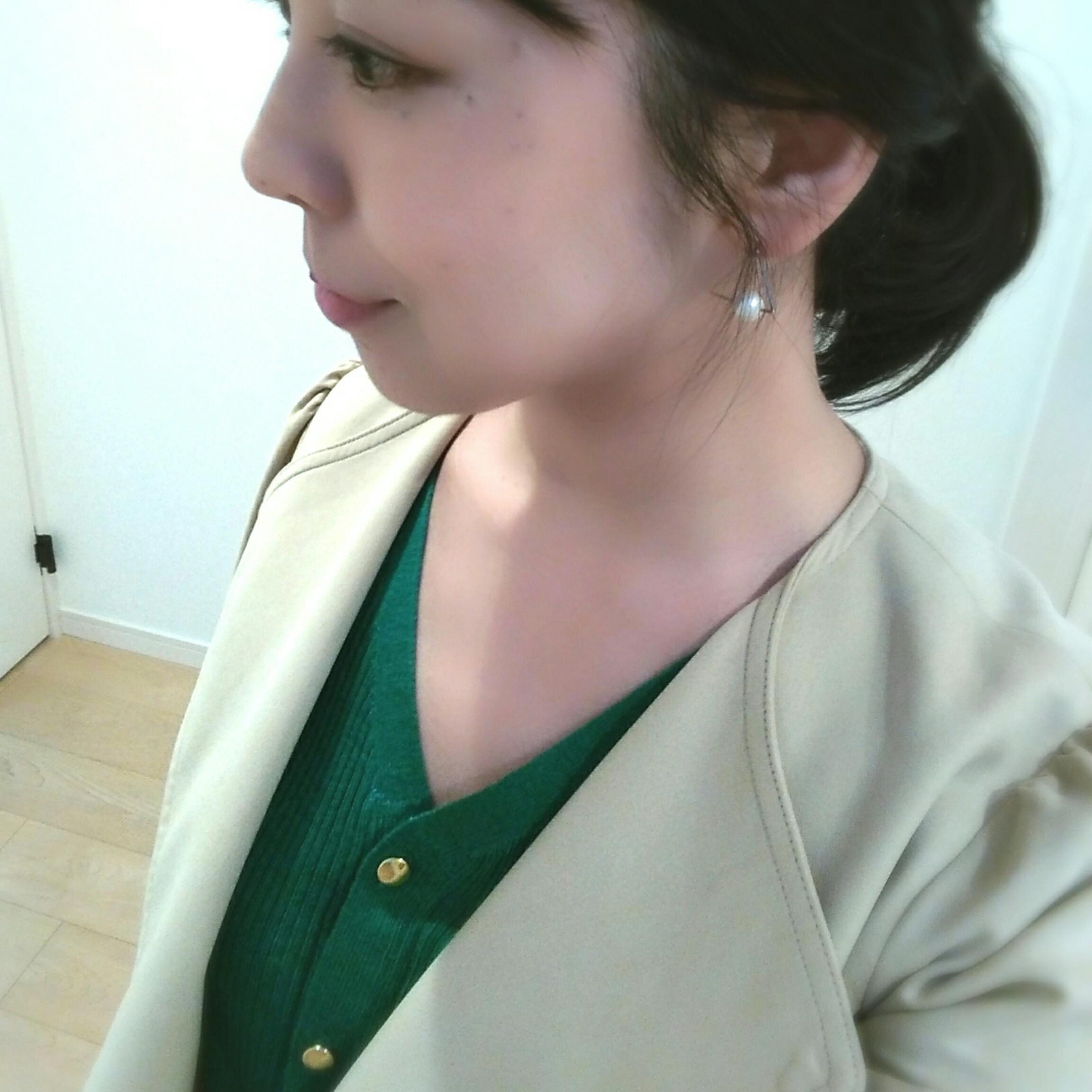 この春の注目色「グリーン」を美女組さんはどう着る?【マリソル美女組ブログPICK UP】_1_1-2