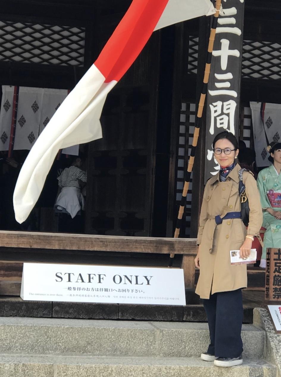 お気に入りのトレンチコートで京都へ♪_1_7-3