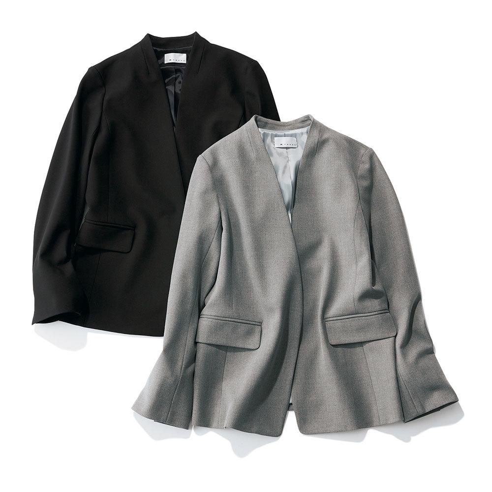 アラフォーお仕事服のエムセブンデイズジャケット