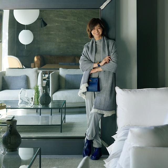 伊・サルバトーリ社の石材、小物などが見られるè interiors| BoffiDePadova_ Tokyo