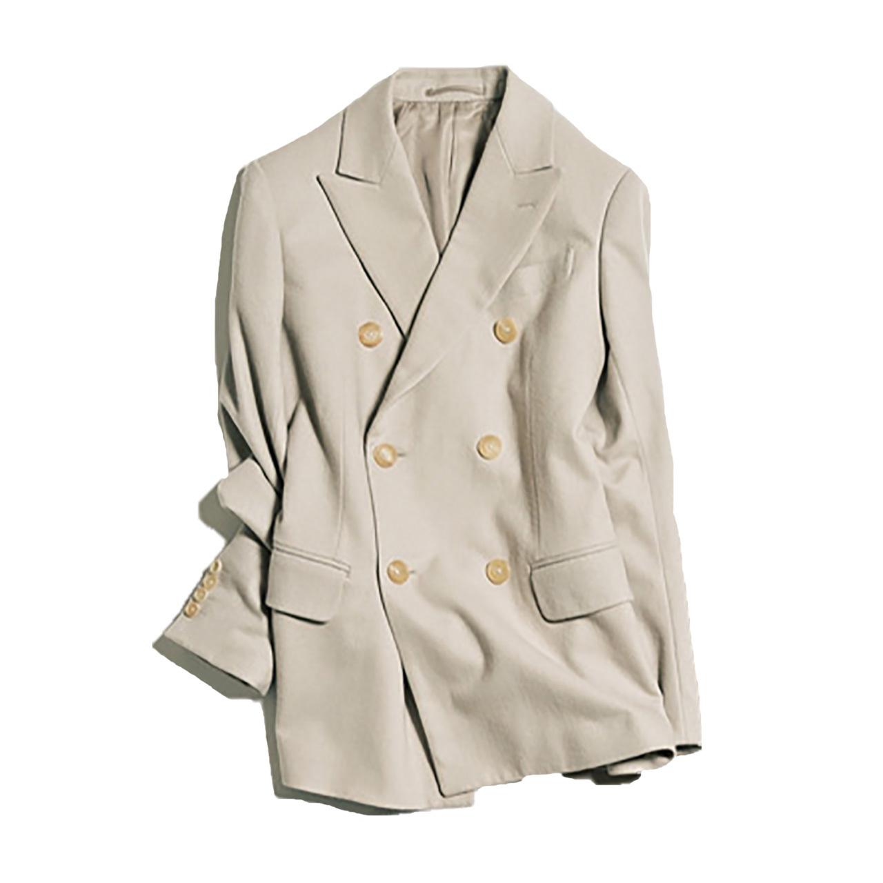 サイベーシックスのベージュジャケット