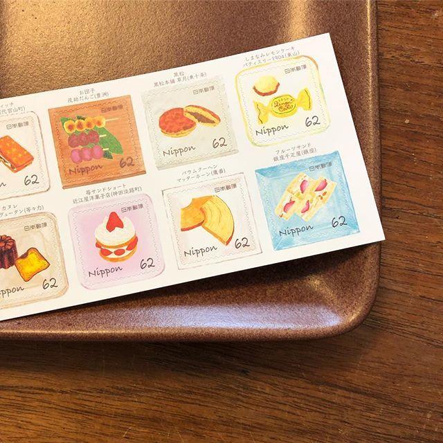 神田淡路町にある洋菓子の名店「近江屋洋菓子店」のスウィーツ切手を発見!_1_1