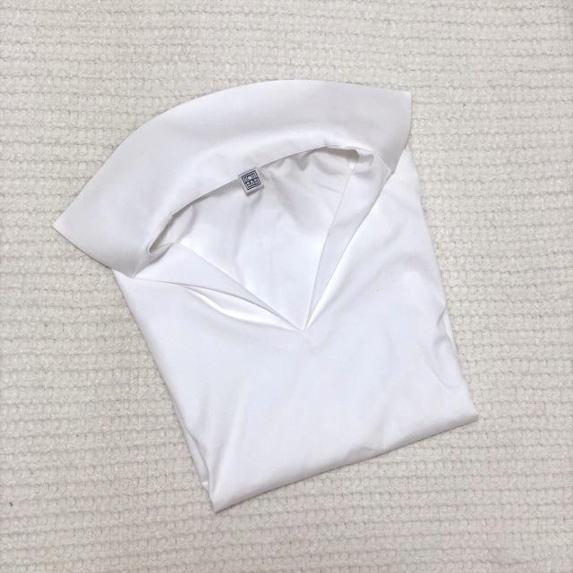 白シャツの定期更新。今年はデザイン性のあるスキッパータイプに。_1_1-1
