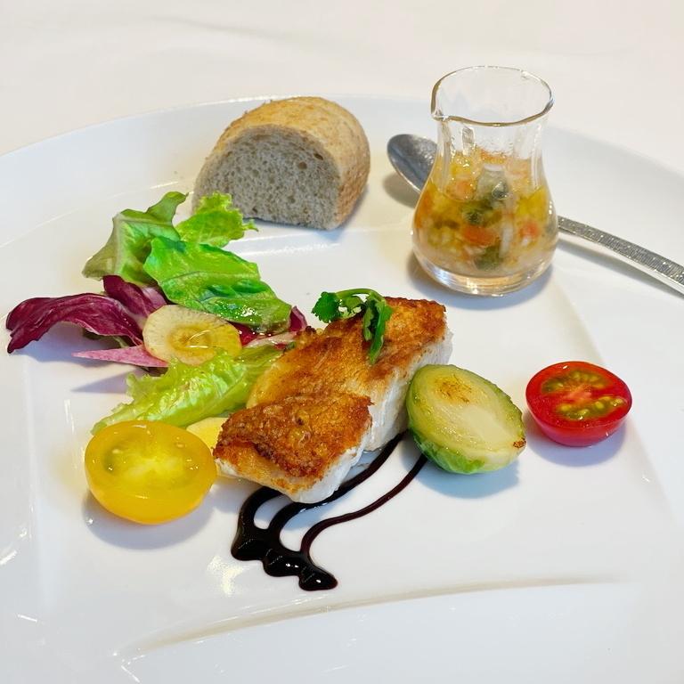 Blanc Rouge ブランルージュ 東京ステーションホテル 魚 Fish 笠子
