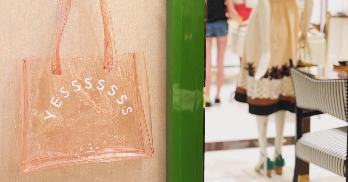 """先着プレゼントも! 9/22(土)限定★ケイト・スペードの路面店で""""自分へのご褒美""""をget♡ _1_2"""