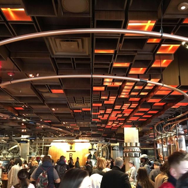 ニューヨークのスターバックス リザーブ ロースタリー☆Starbucks reserve roastery NYC_1_1