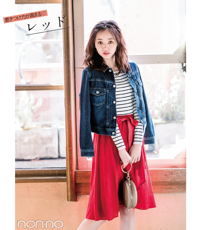春一番に買うのはコレ! きれい色スカート2018♡ 最新コーデ4選!_1_1-3