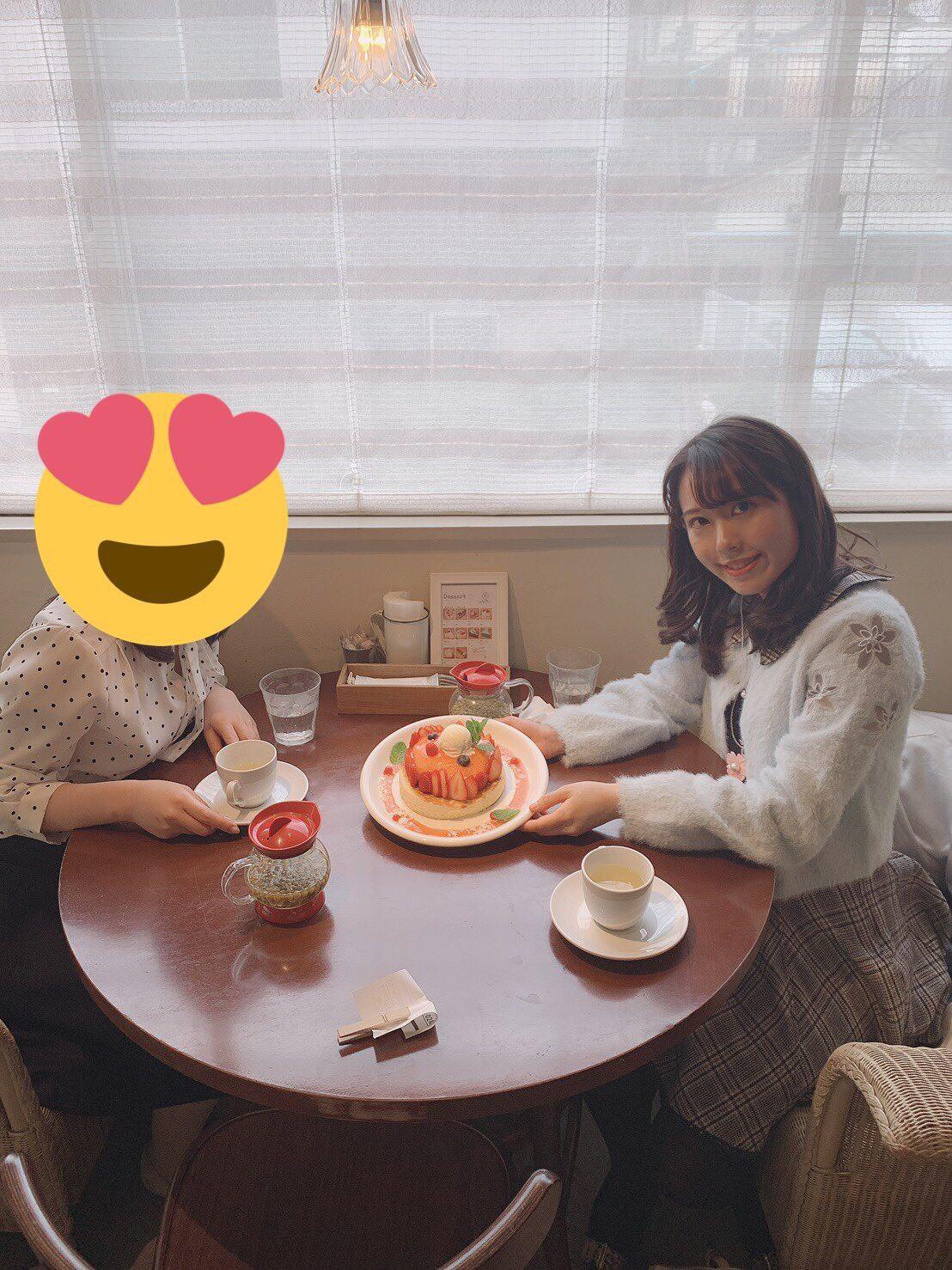 """期間限定♡""""天使のクリーム""""いちごのレアチーズパンケーキ_1_2-2"""
