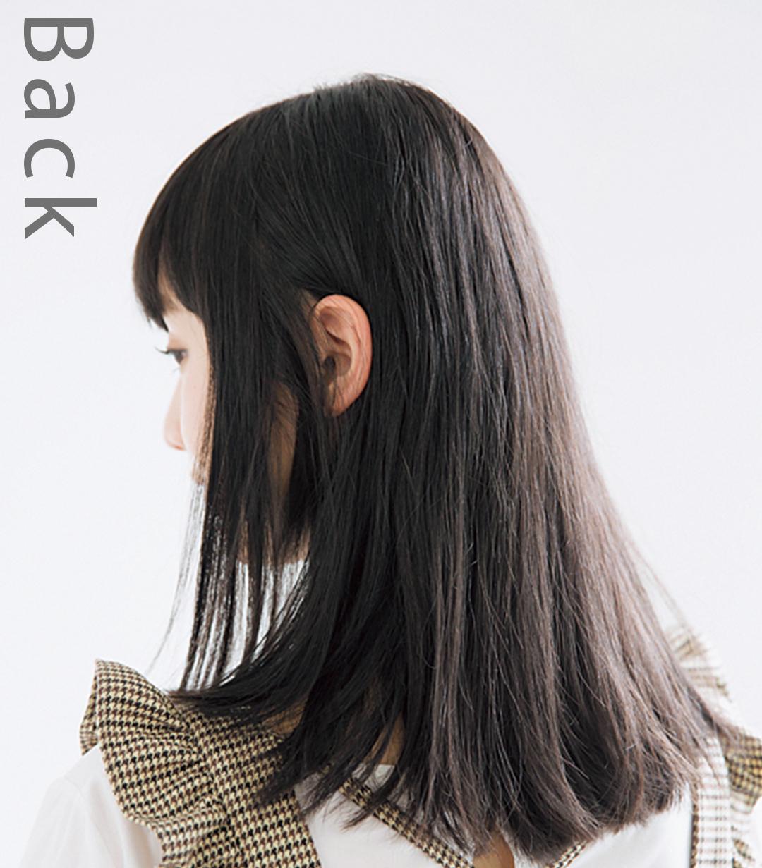 山田愛奈、20cm髪を切る! 小顔前髪&透明感カラーのお手本ヘアスタイル♡ _1_2-2