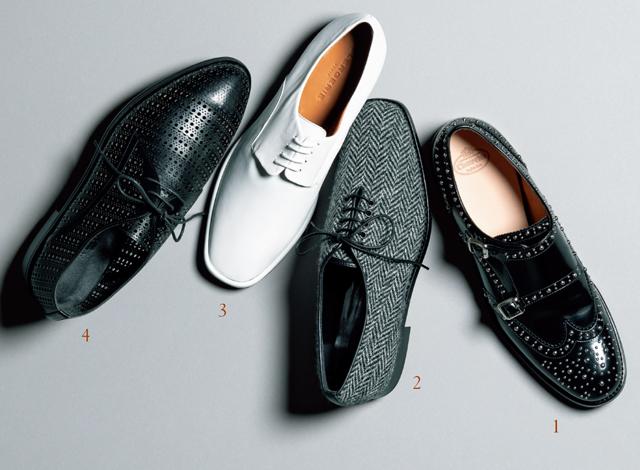 マダム戸野塚が選ぶマニッシュ靴4足