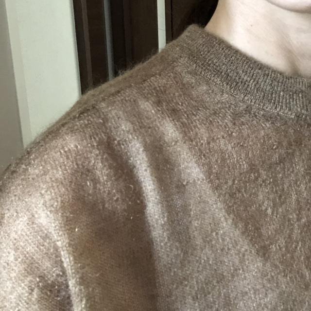 透け感ある女っぷりセーター♡_1_6