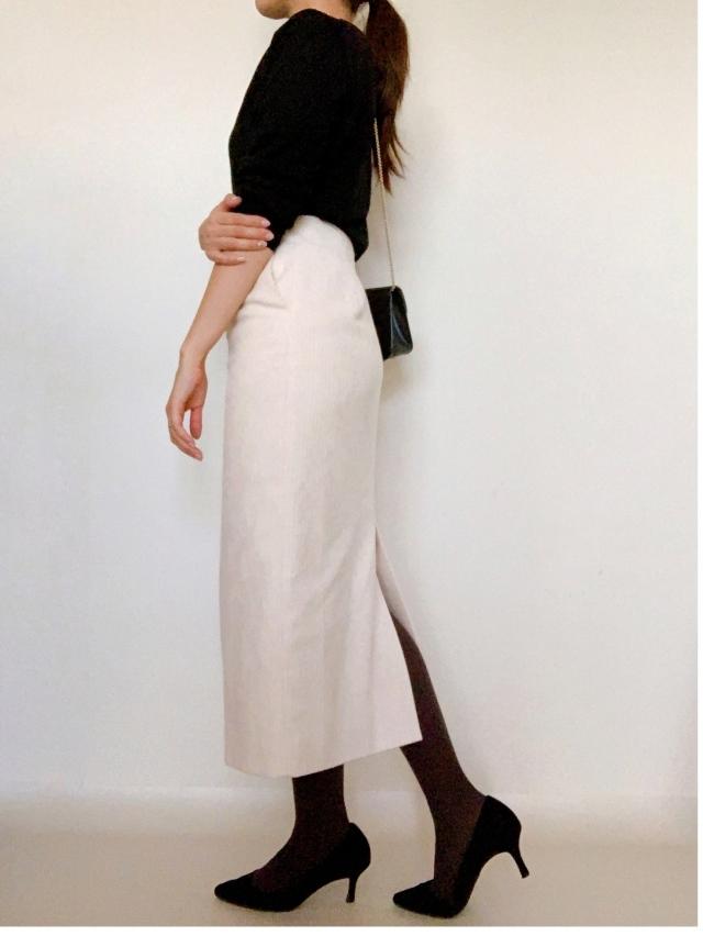 11月号付録「マリソル×ストラスブルゴ ニュアンスグレー<美脚タイツ>」美女組の着こなしは?_1_6