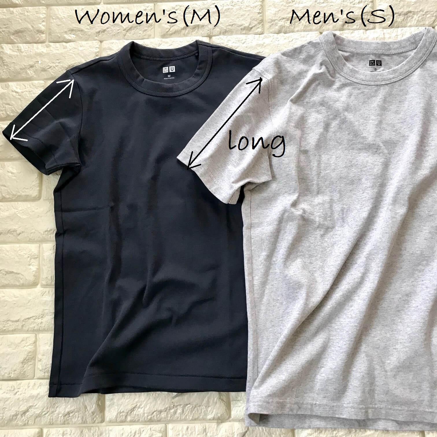 ユニクロTシャツ説明画像