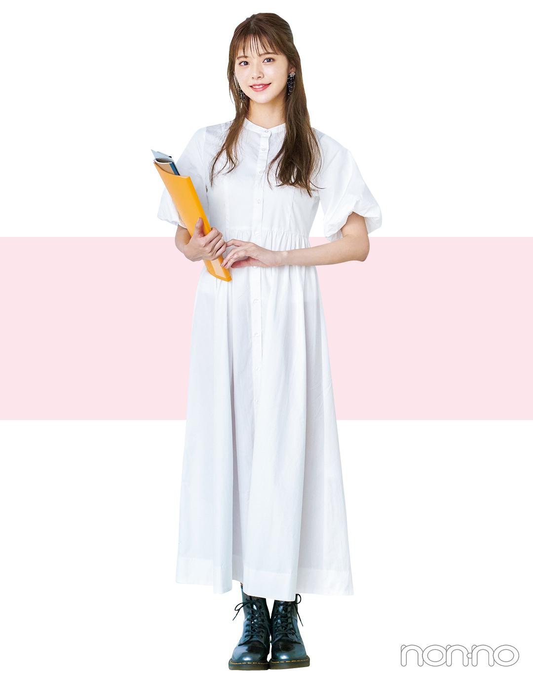 鈴木ゆうかの夏私服1週間コーデday7