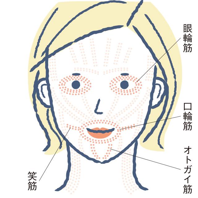 老け顔解消のポイント