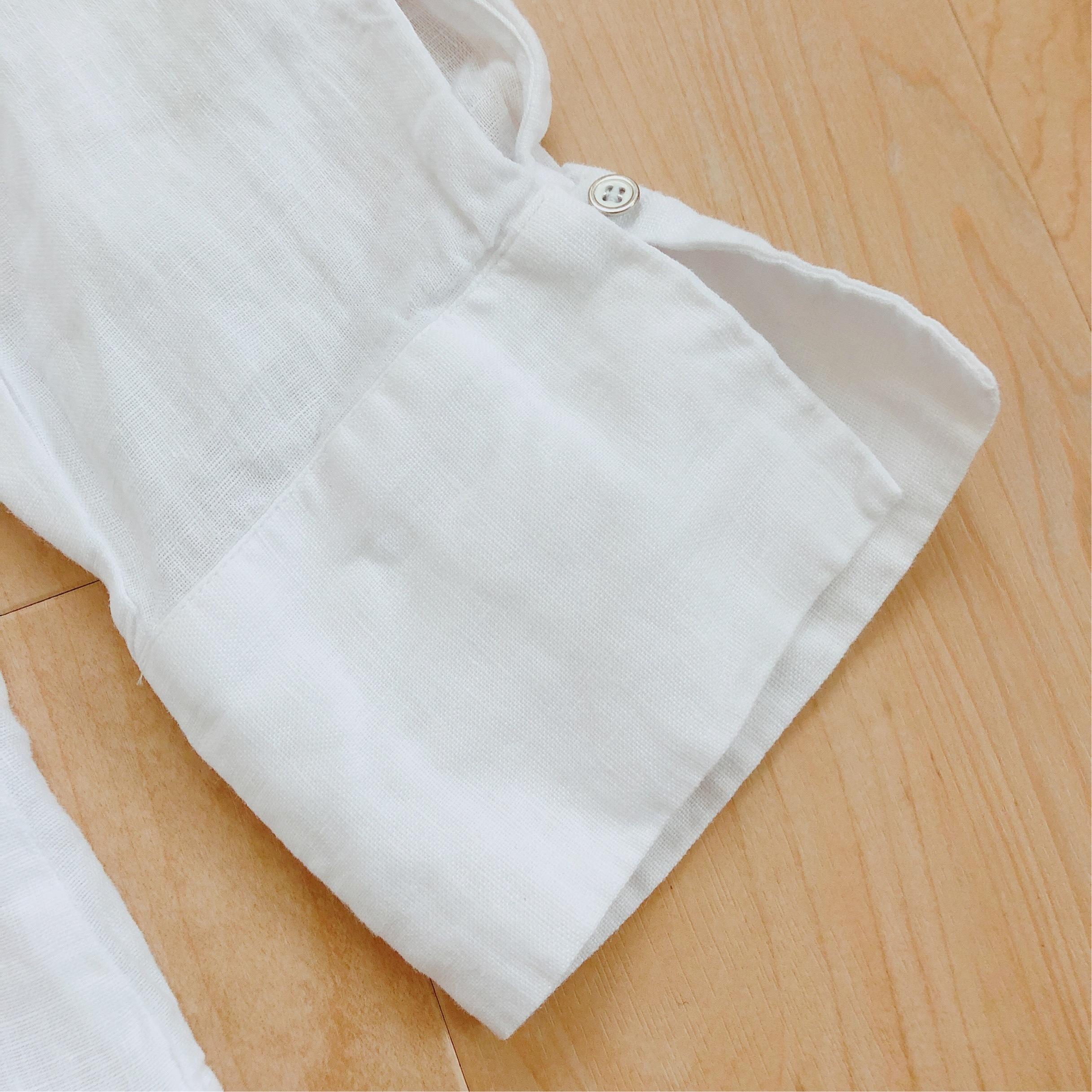 今年はZARAのリネンシャツにアップデート。_1_2-1