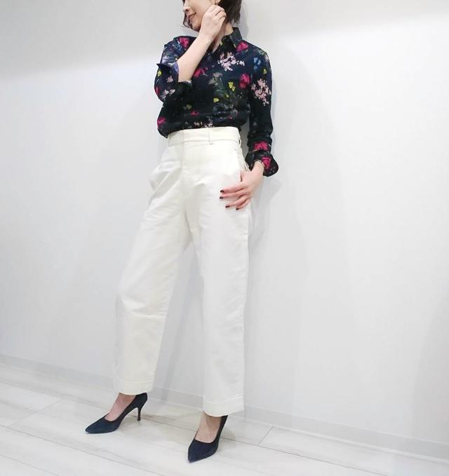 【ユニクロ×イネス 2020年春夏コレクション】で大人のフレンチ・シックコーデ_1_4
