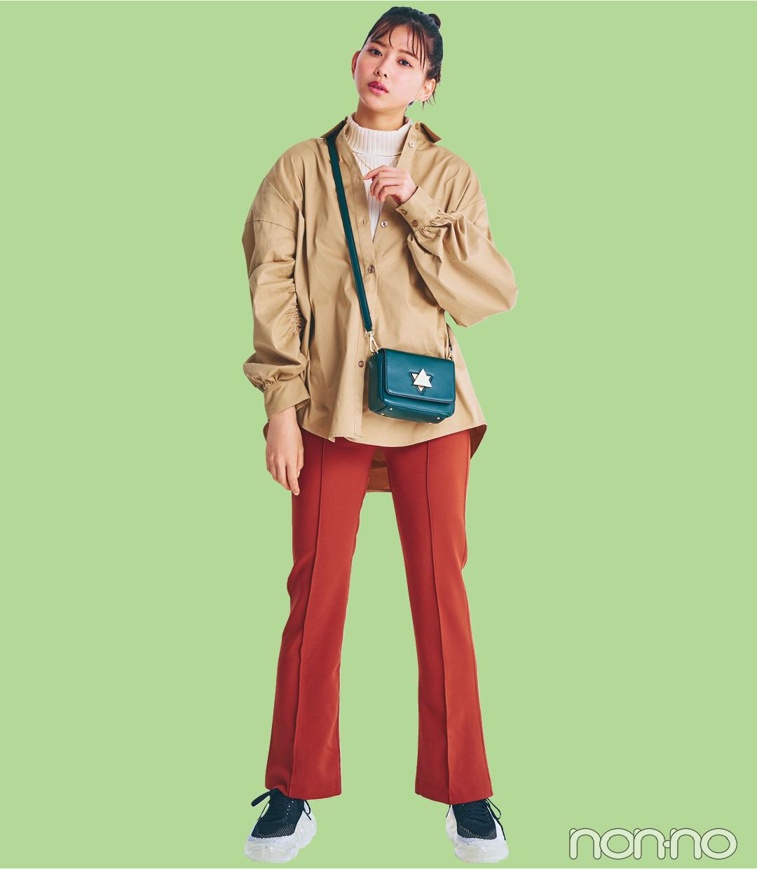 【2021年ファッショントレンド vol.6】鮮度が格段にUPするカラーパンツ_1_4