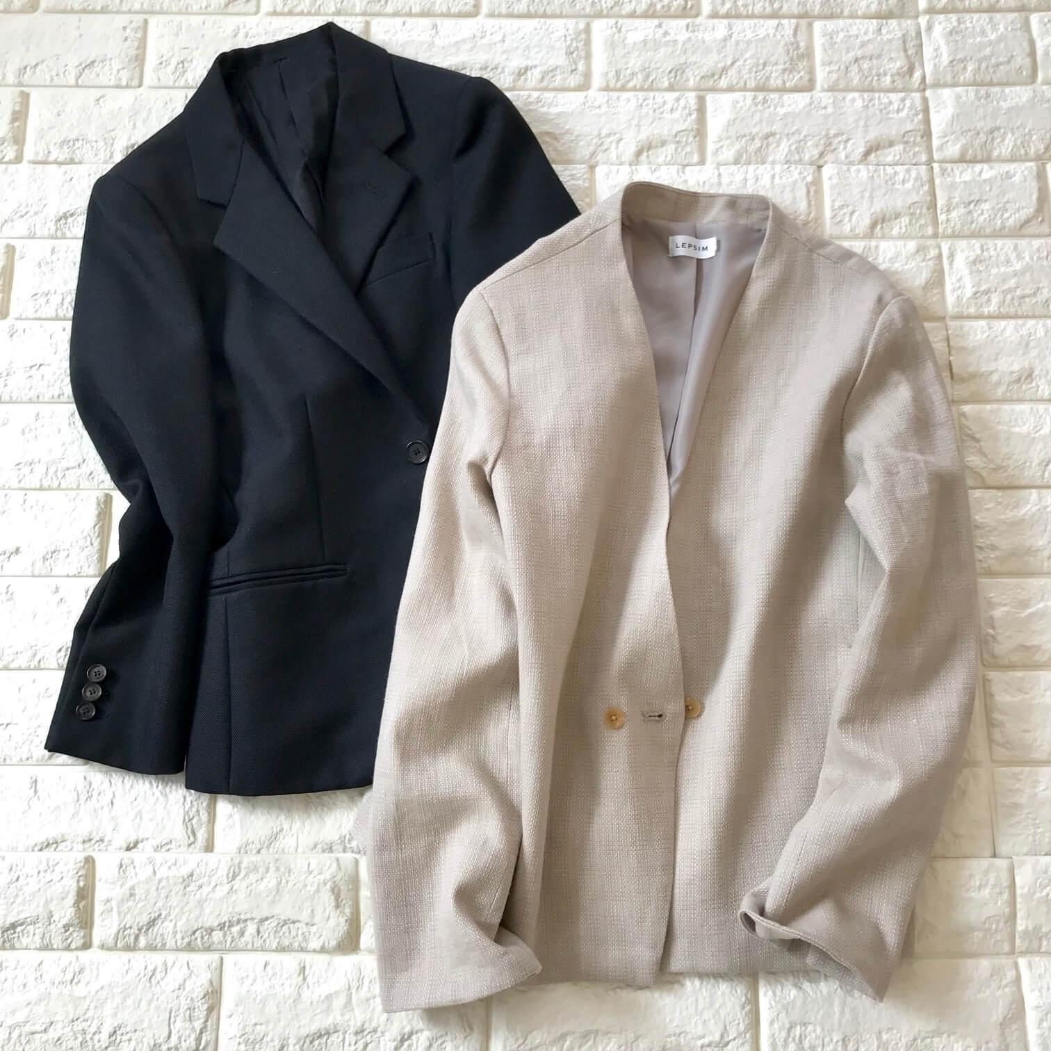 レプシィムとドゥロワーのジャケットを並べた画像