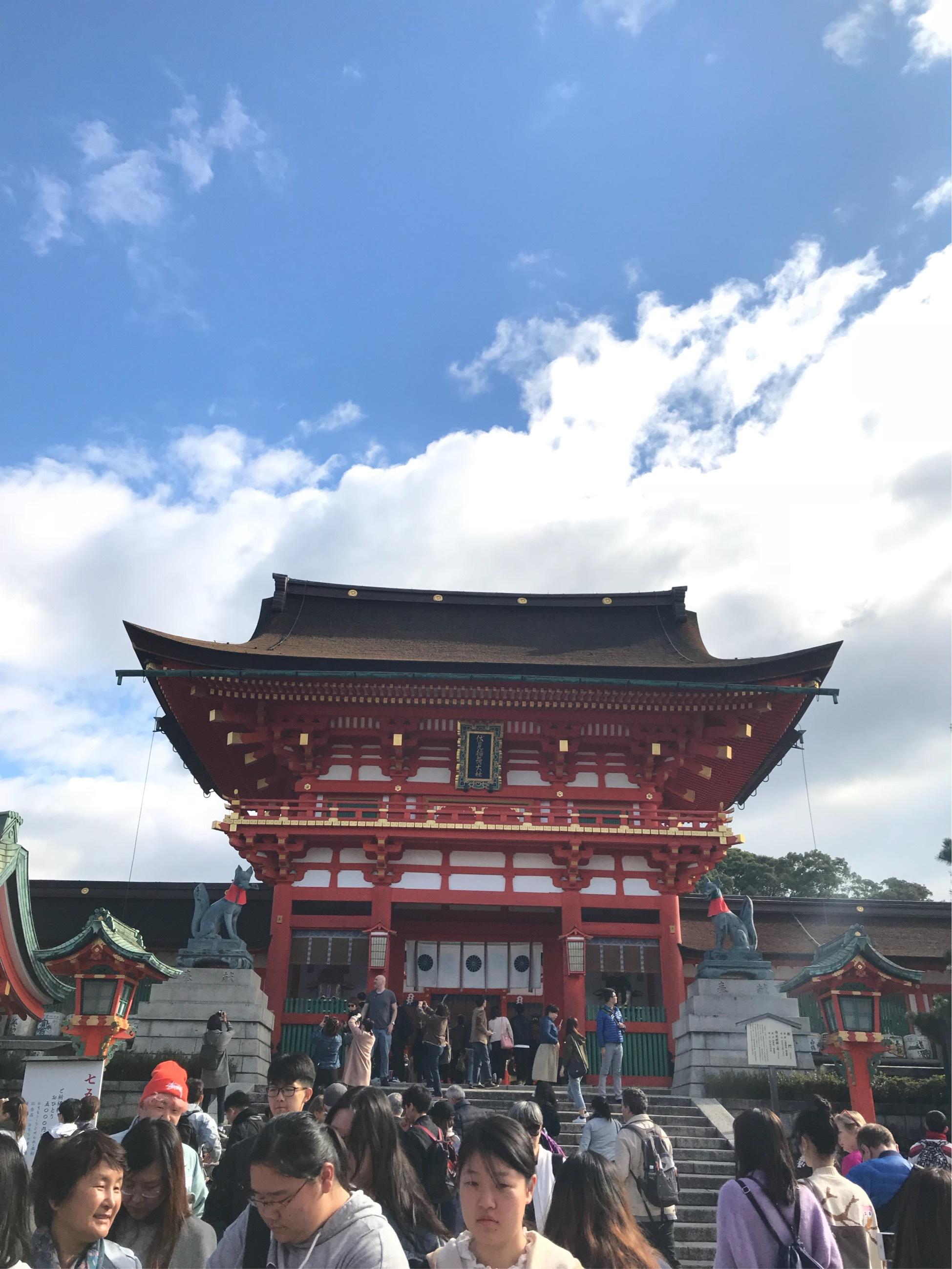 お気に入りのトレンチコートで京都へ♪_1_7-2