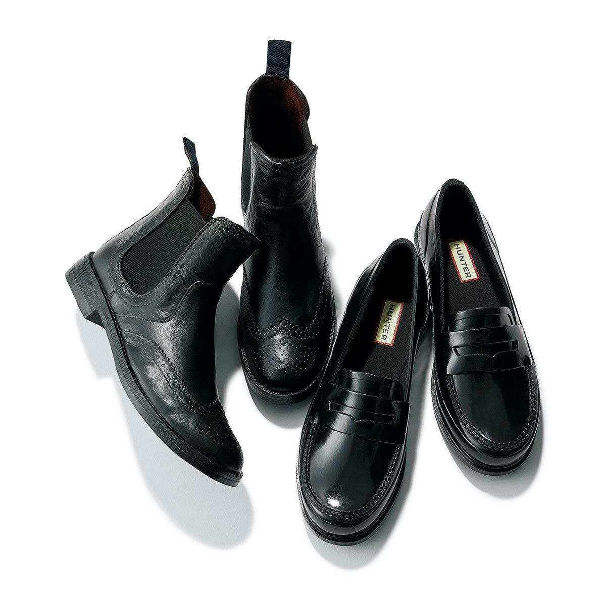 雨の日の靴もおしゃれに! レインシューズ特集 | レインブーツ、ゴム製のローファーなど | アラフォーファッション_1_10