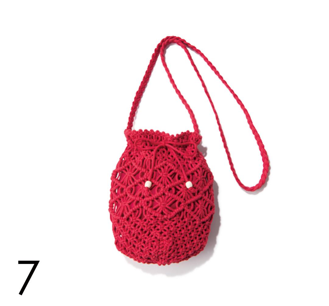さりげないのに好印象♡ バッグで赤を取り入れる!_1_4-7