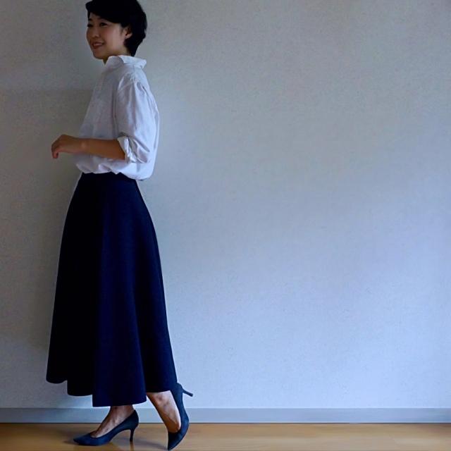BLUEBIRD BOULEVARDのスカートで秋スタイル始め_1_1-3