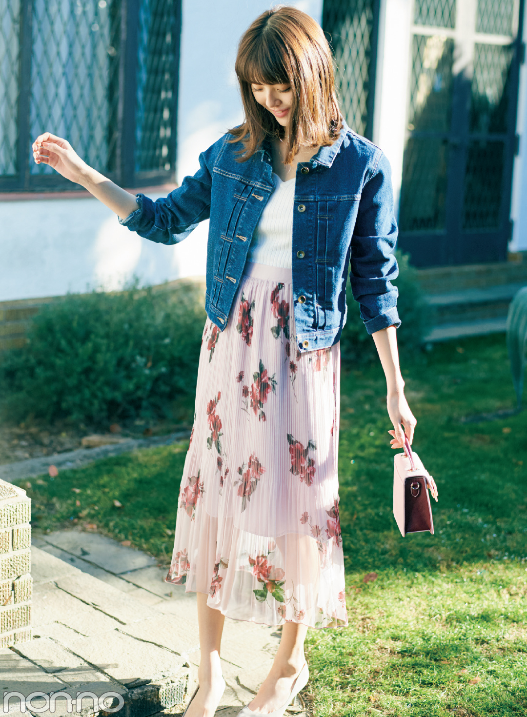 盛れる♡ 春めき花柄スカート、フェミカジ&きれいめコーデのお手本はコレ!_1_1