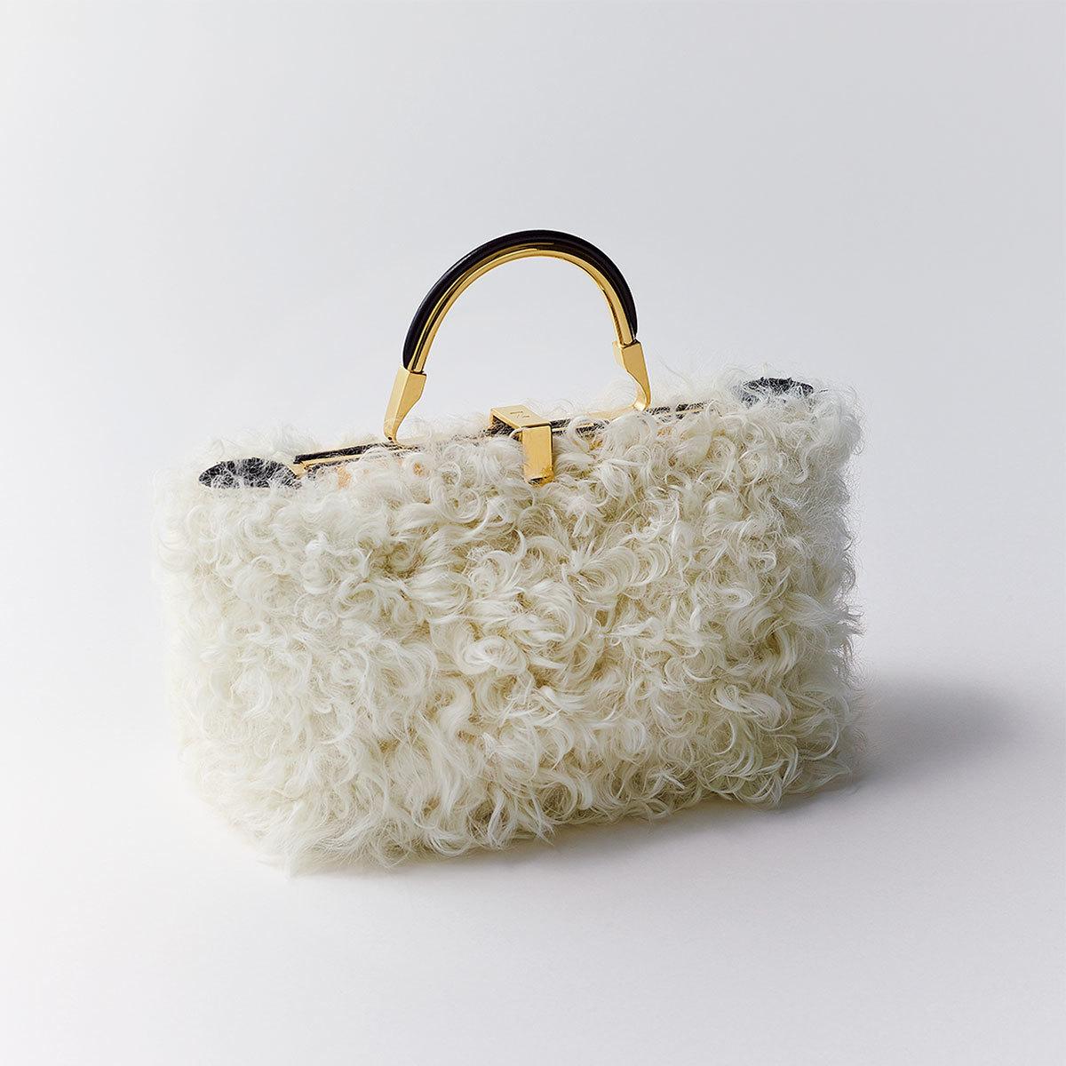 ザンケッティのファーバッグ