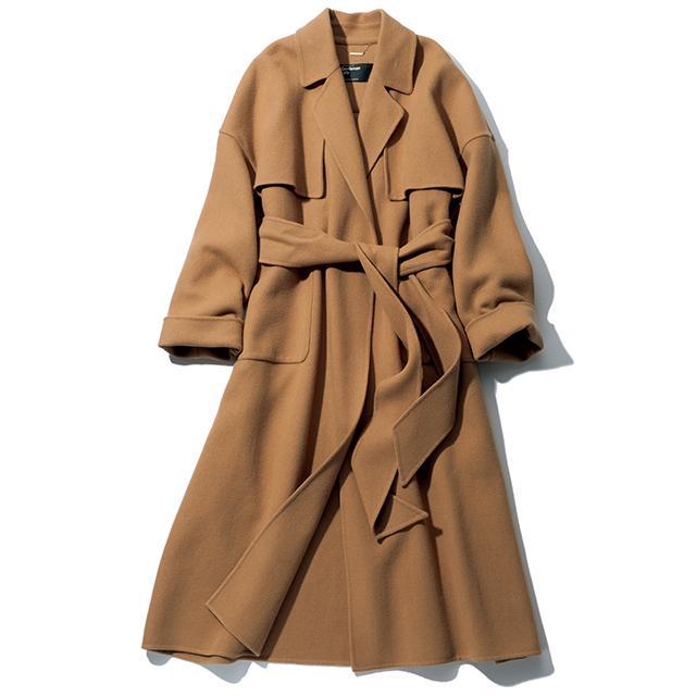 「カオス」のウールコート