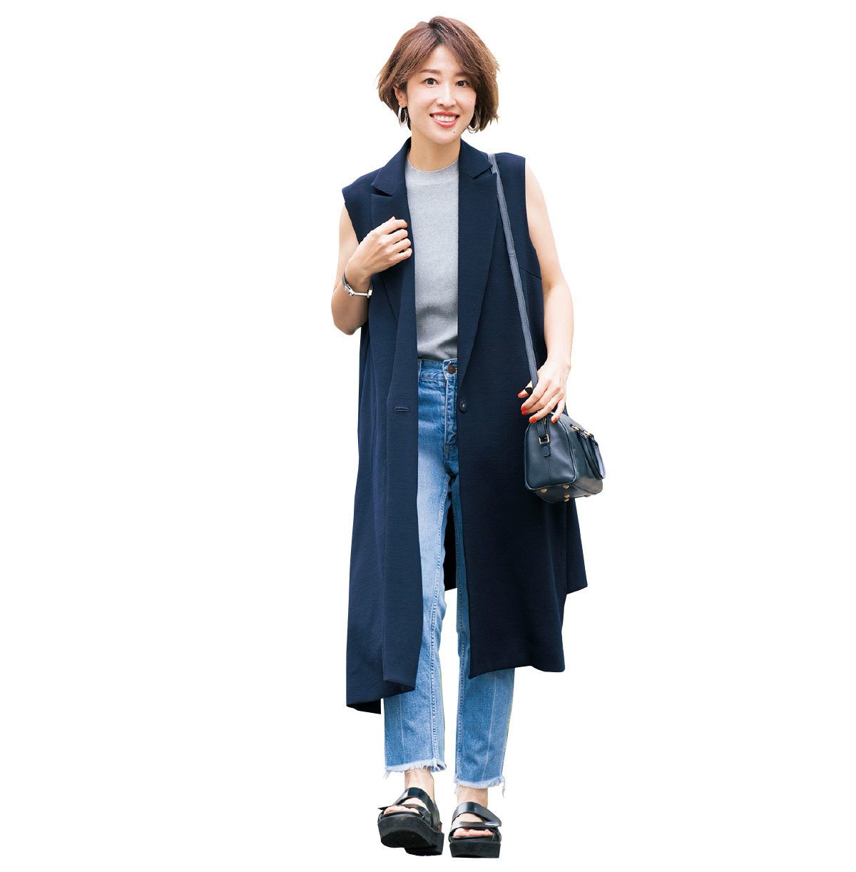 yukieさんのブルー&ネイビースタイル【美女組ファッションSNAP】_1_1-1