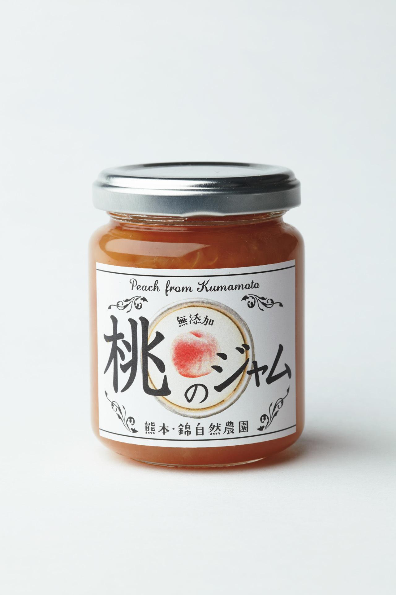 チーズや生ハムとの相性も抜群 錦自然農園の 「桃のジャム」_1_1