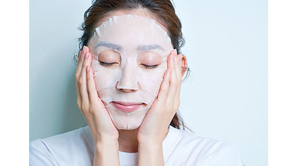 技⑤  「仮面返しで、乾かない、柔らかな肌へ」1